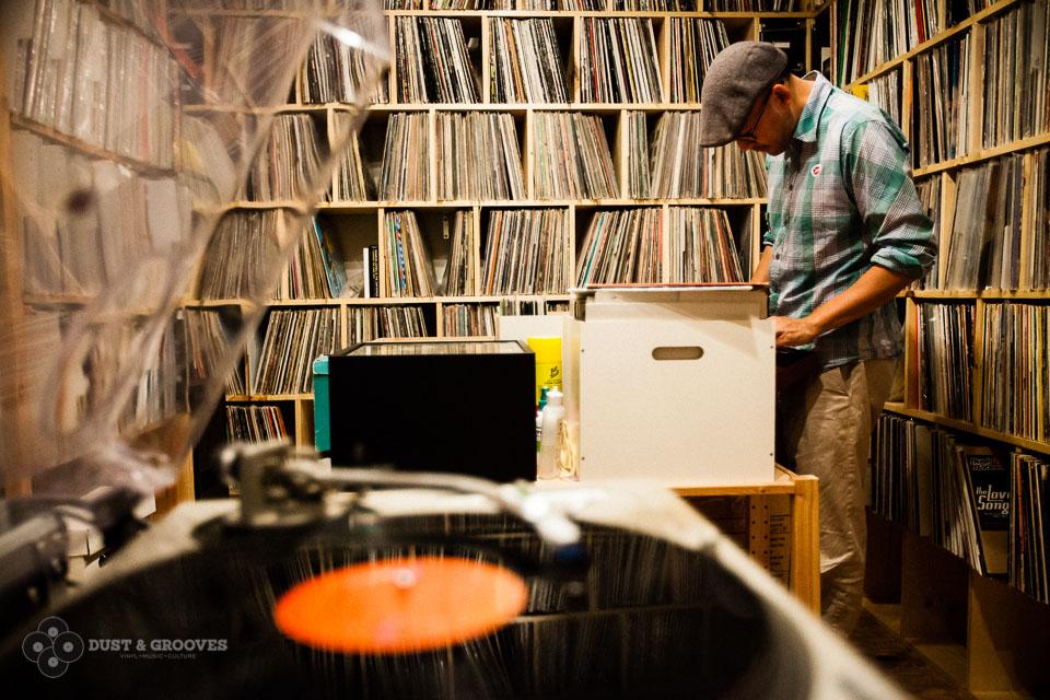 ranger ses disques vinyles