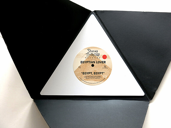 Egyptian Lover shape vinyl