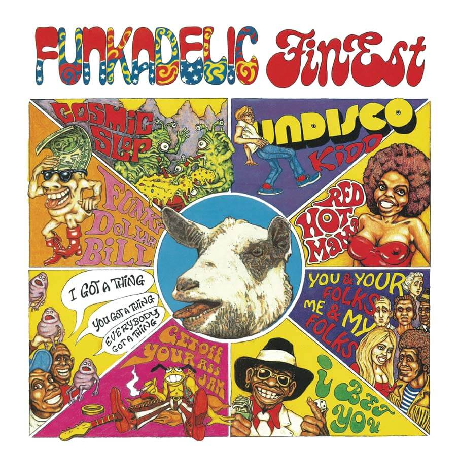 FUNKADELIC FINEST front cover