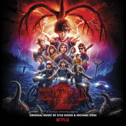 Stranger Things 2 vinyle
