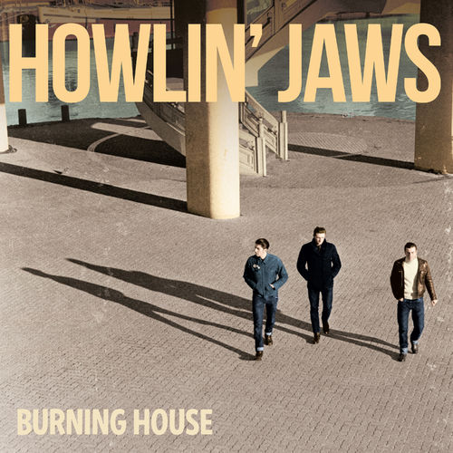 Howlin' Jaws Burning house