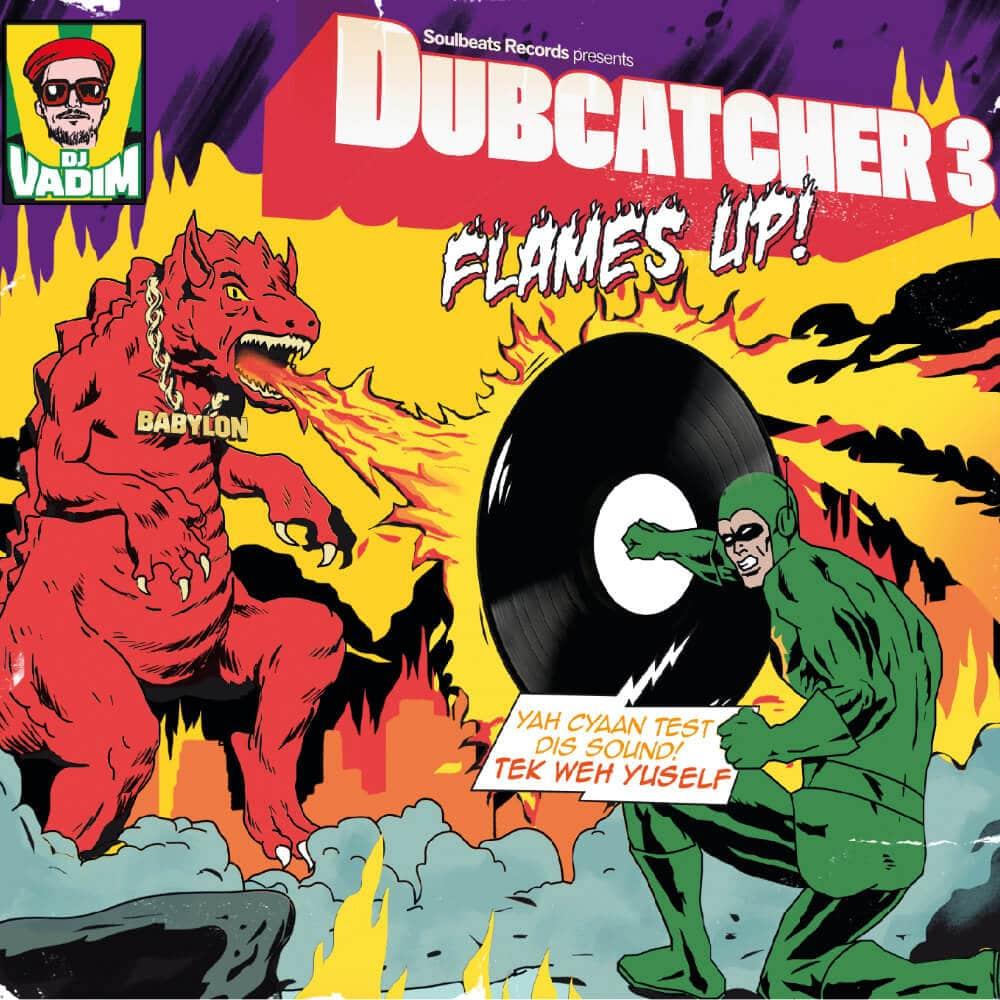 Front Cover DJ VADIM Dubcatcher III - WaxBuyersclub - Square