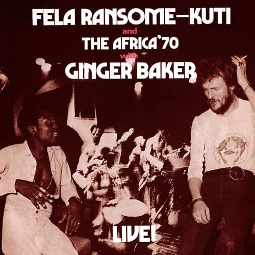 Fela kuti with ginger baker