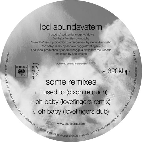 LCD soundsystem Oh baby lovefingers remixes