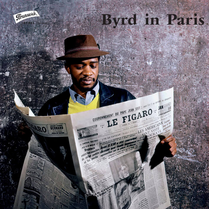 Donald Byrd - Byrd in Paris - WaxBuyersClub - SamRecords - Front Cover