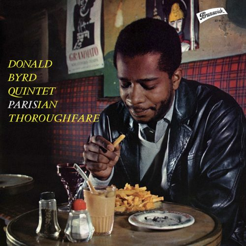 Donald Byrd – Byrd in Paris, Vol 2 – Brunswick – 1958 – 2nd Pressing
