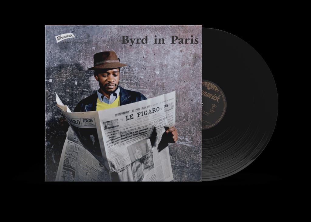 MockUp Donald Byrd - Byrd in Paris - WaxBuyersClub - SamRecords - Front Cover