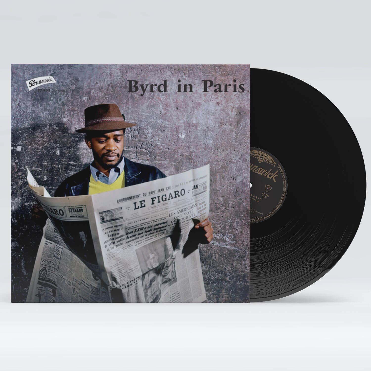 MockUp Donald Byrd - Byrd in Paris - WaxBuyersClub - SamRecords - Front Cover SQUARE
