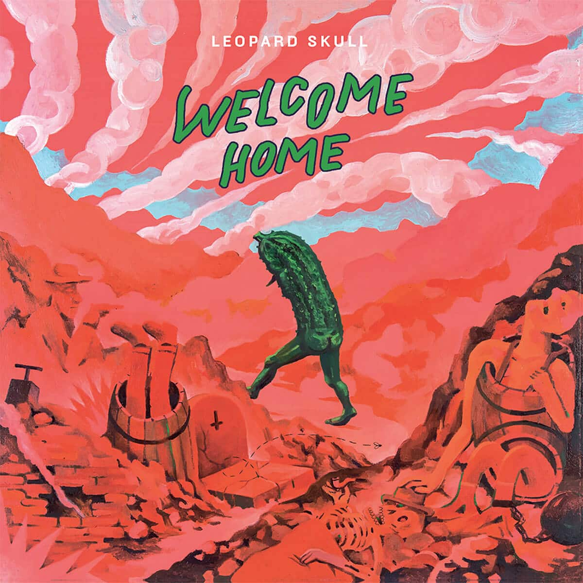 Leopard Skull - Welcome Home - Front