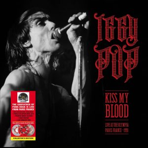 IGGY POP – KISS MY BLOOD (LIVE IN PARIS 1991) disquaire day