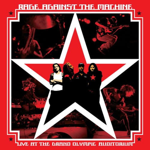 Rage Against The Machine ‎– Live At The Grand Olympic Auditorium - Vinyle