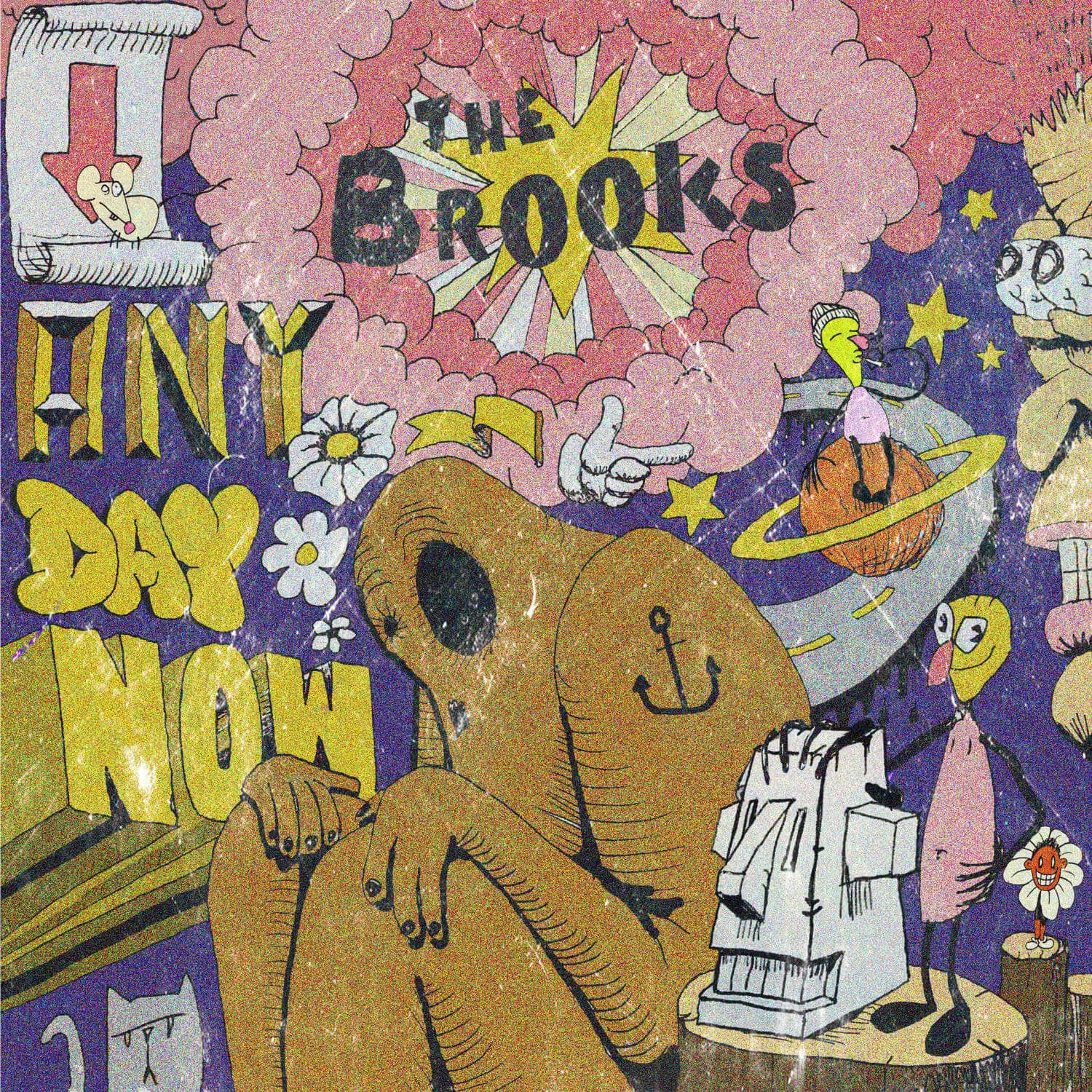 The Brooks wax buyers club anu day now front cover