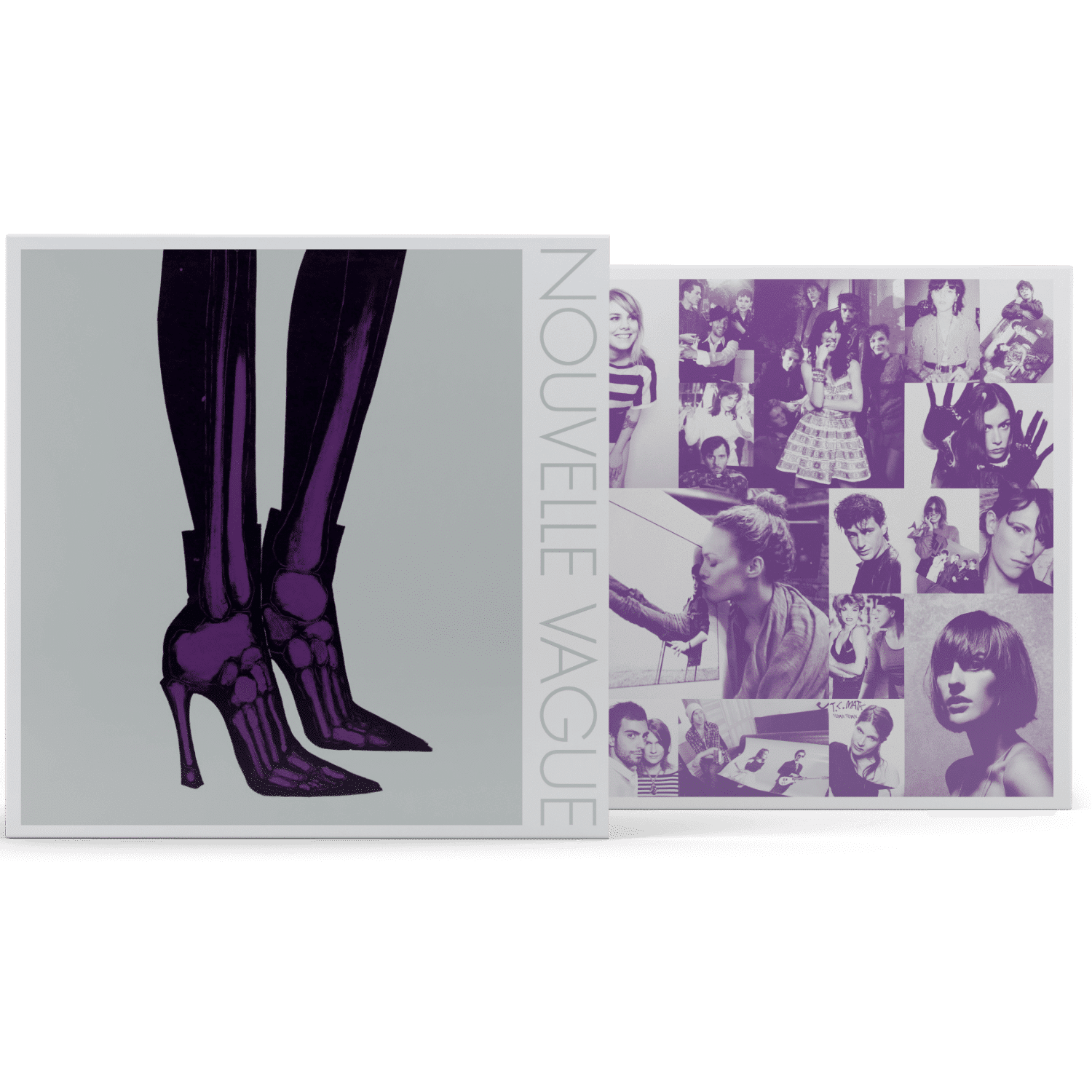Mock-Up - Nouvelle Vague Wax Buyers Club Cover square