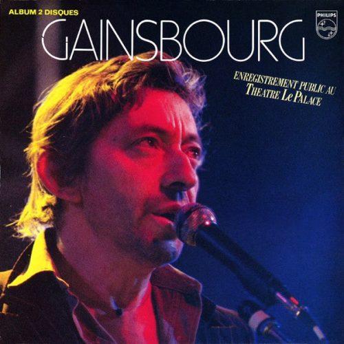 Serge Gainsbourg Enregistrement Public uu théatre le Palace
