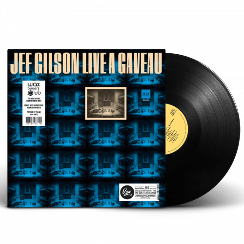 Square Mockup Jef Gilson live a Gaveau - Sam Records - Wax Buyers Club